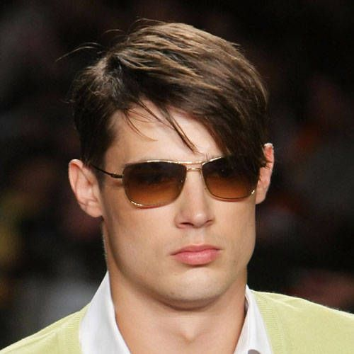 el mundo del peinado peinados para hombre con pelo largo lacio