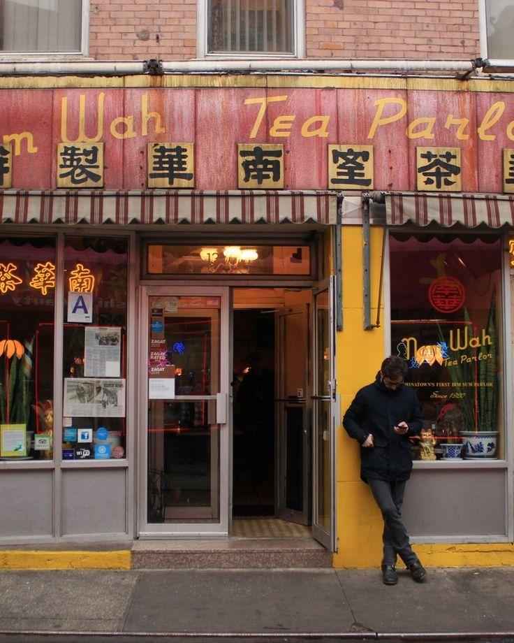 Nom Wah Tea Parlor, New York, New York, Restaurant