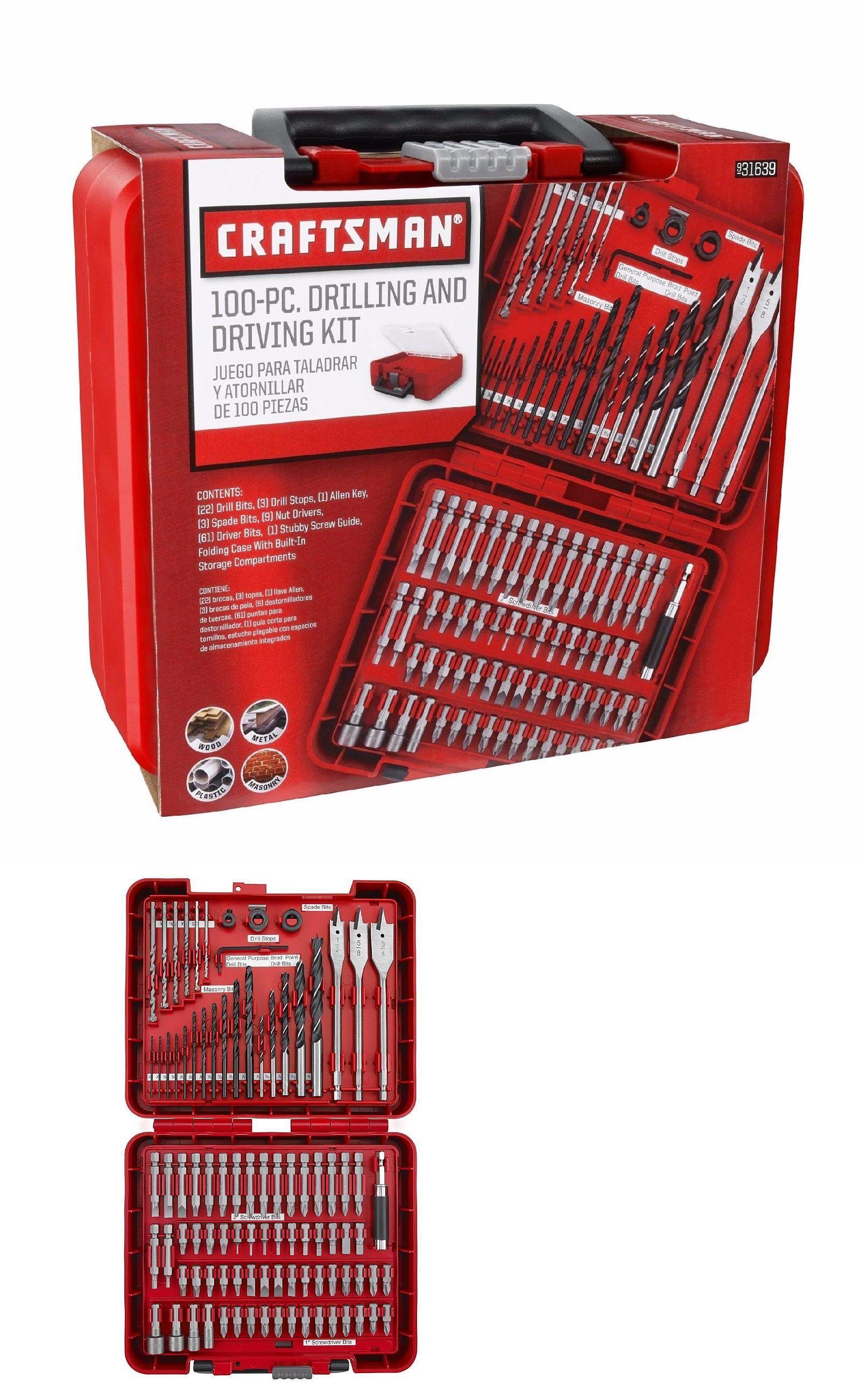 Craftsman 450 Piece Mechanic/'s Tool Set with 3 Drawer Case Box 450pc 99040
