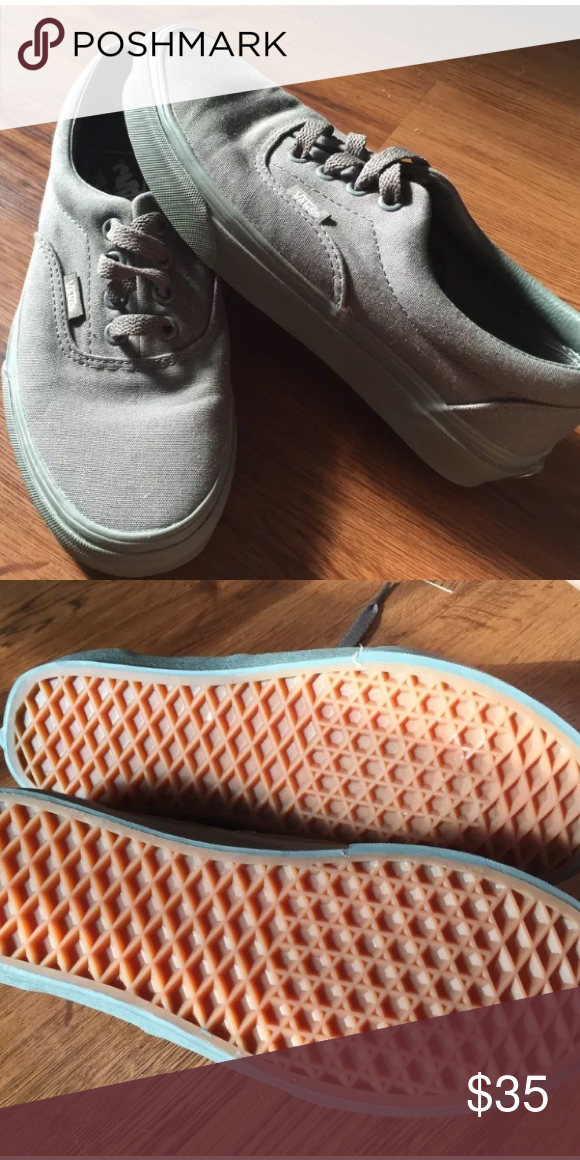 Vans grey classic shoes New with tags! Vans grey classic shoes women's size 6.5 Vans Shoes Sneakers