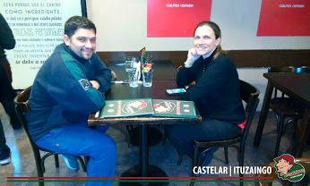 Esta tarde en Lo de Carlitos Castelar / Ituzaingo!!! Gracias amigos por venir a pasarla lindo con nosotros!