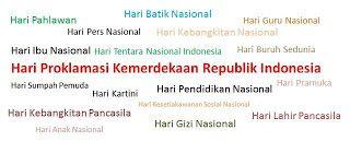 Daftar Hari Hari Besar Nasional Indonesia Dan Internasional Indonesia Pendidikan Guru