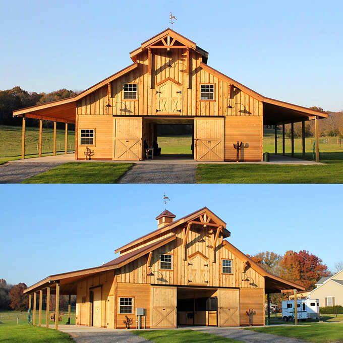 Barn Shop Designs: Barn Pros Post-Frame Barn Kit Buildings