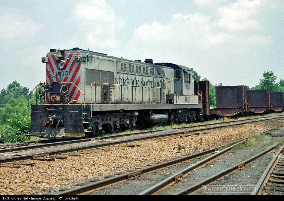 RailPictures.Net Photo: NS 1615 Norfolk Southern Baldwin AS-416 at Duncan, North Carolina by Tom Sink