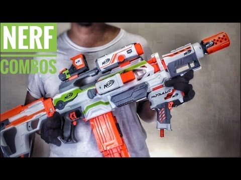 Here today, we will be doing another Nerf Combos video!! This time with an  older blaster, the Nerf Modulus ECS-10!! The blaster may be old, but more  than a ...