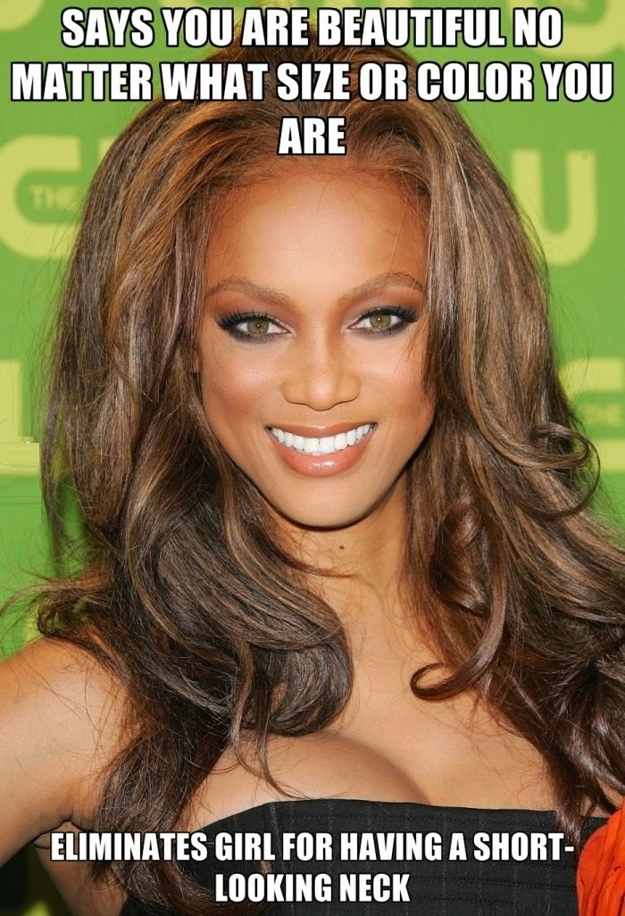 Hypocrite Tyra Banks Funny Pictures Funny Photos Funny Images Funny Pics Funny Quotes Lol Humor Funnypictures Tyra Tyra Banks Crazy Hair