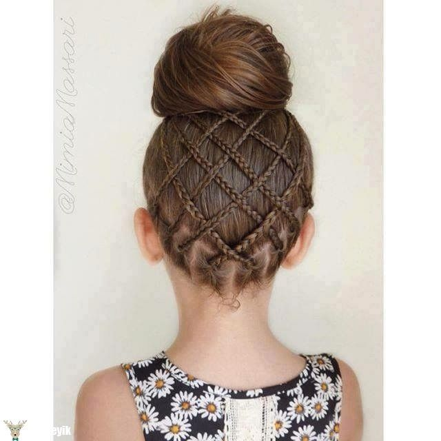 Hairstyles For Little Girls Unique 20 Fancy Little Girl Braids Hairstyle  Pinterest  Girls Braided