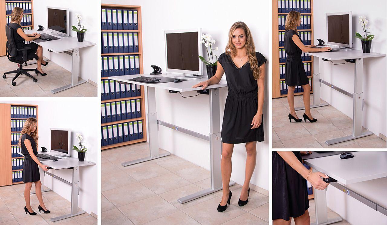 Der Gesundheitsfaktor Komfortables Und Produktiveres Arbeiten Spielen Eine Immer Grossere Rolle A Schreibtisch Elektrisch Hohenverstellbarer Schreibtisch Tisch