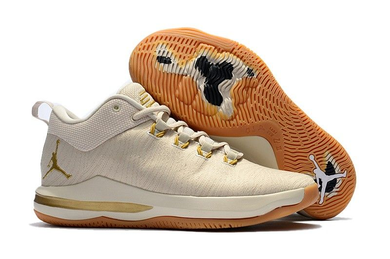 1808175efa5 Mens Nike Air Jordan CP3 X Basketball Shoes Beige Gold,Jordan-CP3 ...