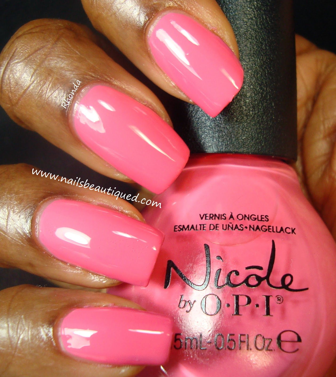 Nicole by OPI Seize the Summer Collection, LeaPink For Joy | Nails ...