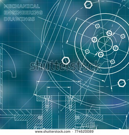 Mechanics technical design engineering blue background grid mechanics technical design engineering blue background grid bubushonok art malvernweather Images
