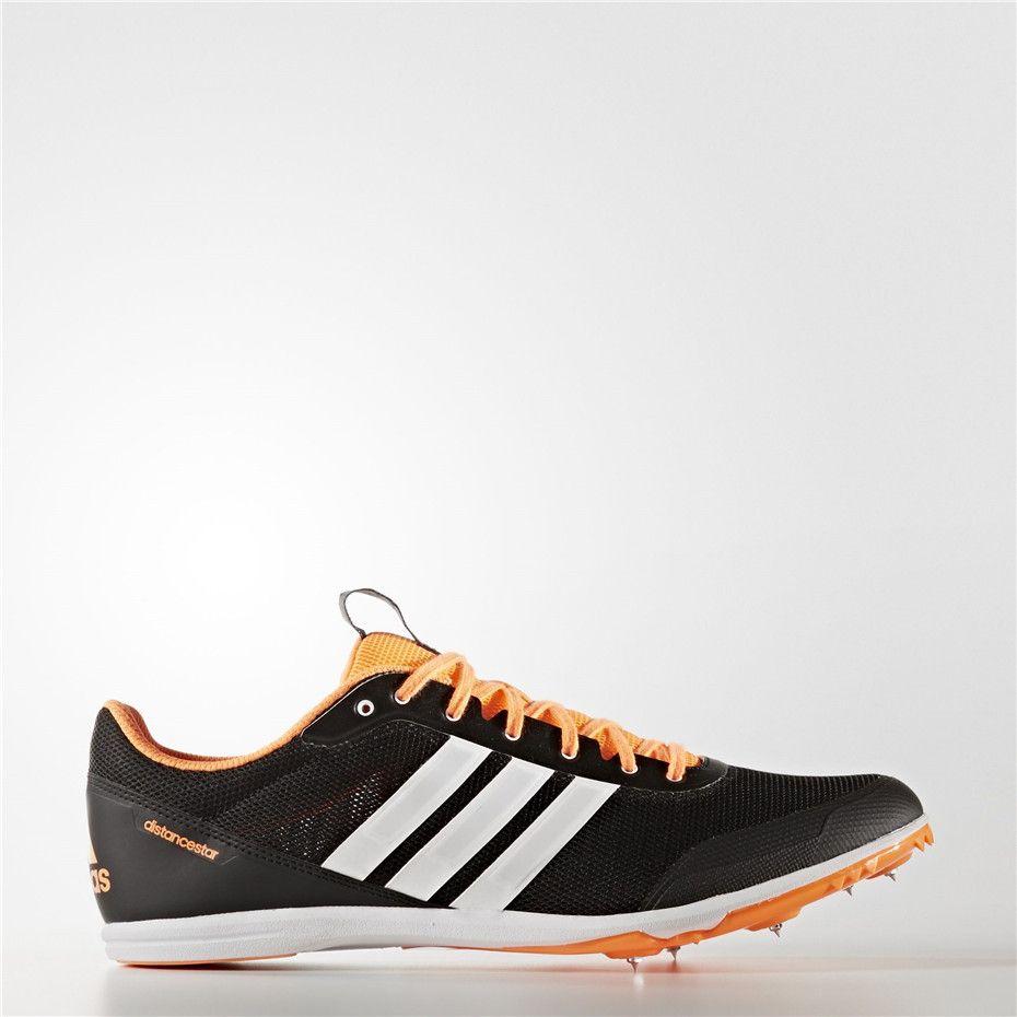 quality design 36b74 6f2c9 Adidas Distancestar Spikes (Core Black  Running White  Glow Orange)