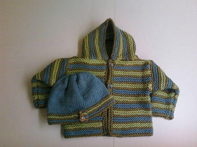 Free pattern Ravelry: Comfy Hooded Jacket pattern by Lion Brand Yarn