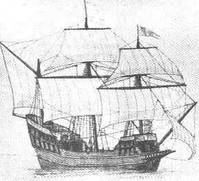 "Jacques cartier boat coloring pages ~ ""Grand Hermine"" was small ship used in Jacques Cartier's ..."