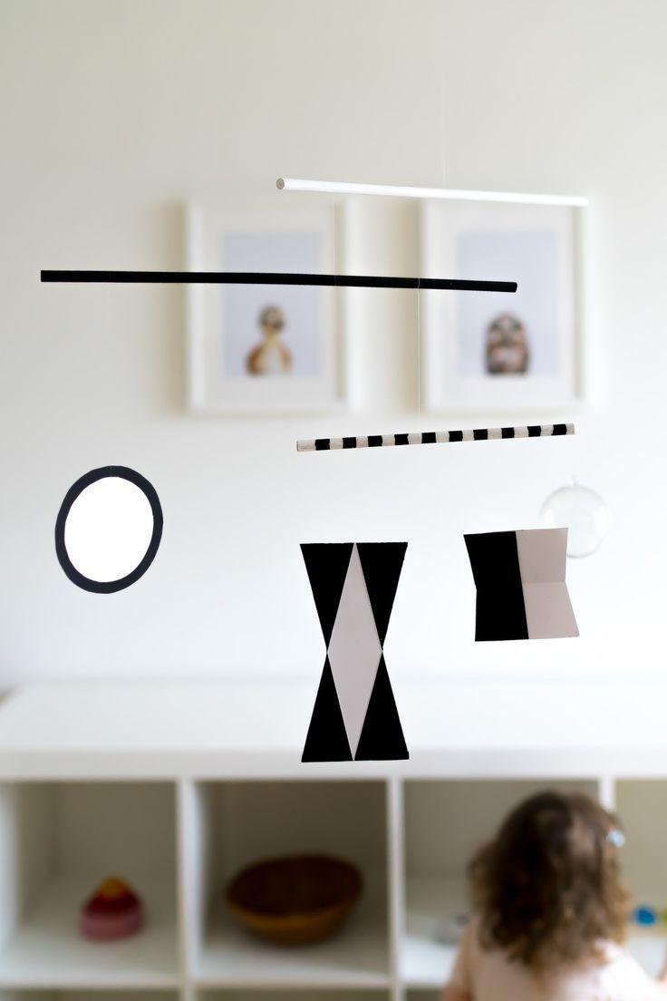 Kunst für Säuglinge: Das DIY-Montessori Mobile nach Bruno ...