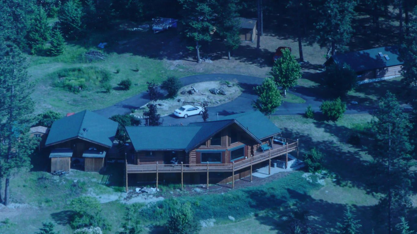 Beautiful Chalet Log Home, sits atop the Mountain! Aerial like Views ...