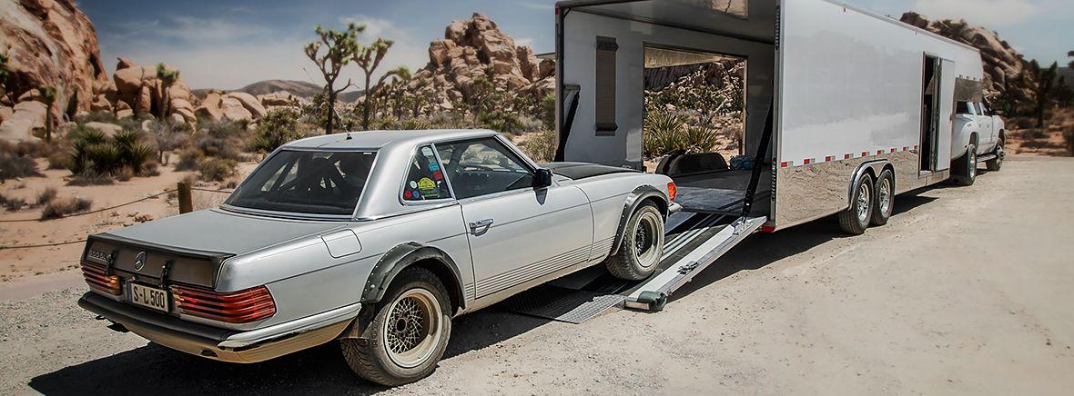 Hot Ride: The 500 SL Rallye in the Californian Desert. | Mercedes ...