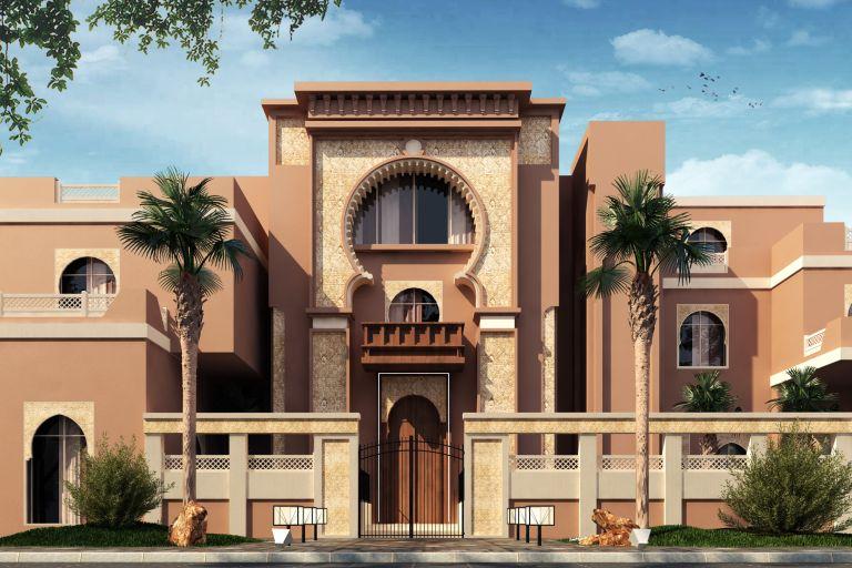 Influences Of Moroccan Style Inverse Architecture In 2020 Villa Design Architecture Exterior Architecture House