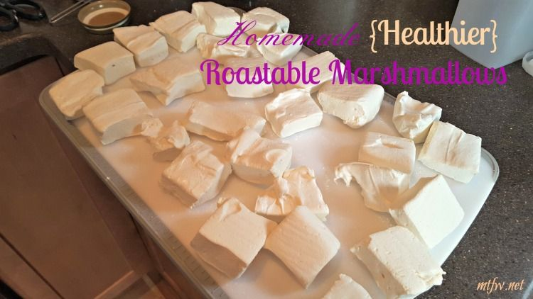 Years ago I made homemade marshmallow cut outs for Easter treats. I was intrigued with the idea that I could actually produce something thatresembled marshmallows at home. I made that batch of hom… #healthymarshmallows