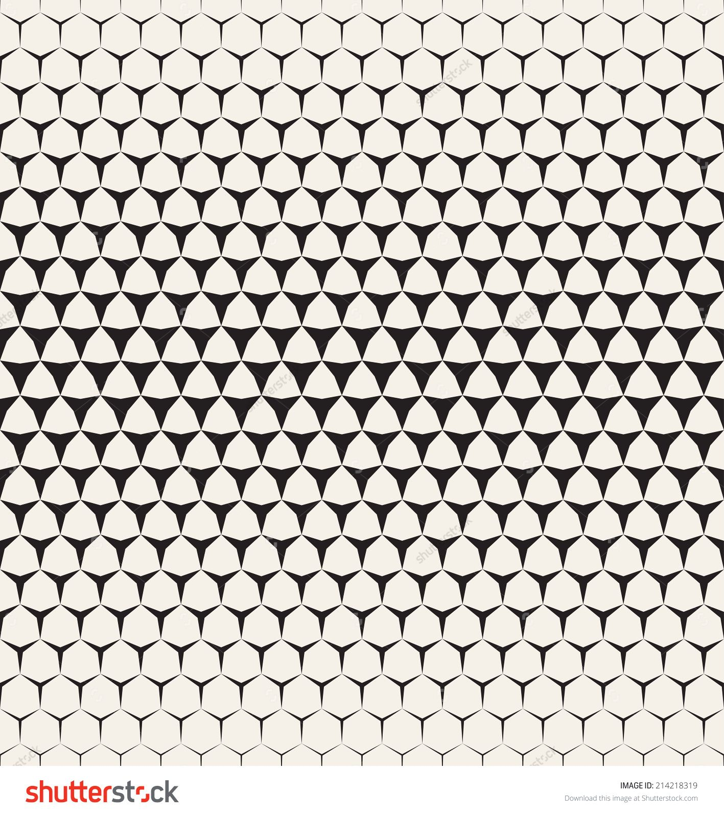 Vector seamless pattern  Modern stylish texture  Repeating geometric