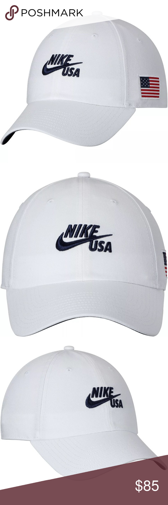 3e99c77243243 New Nike USA 🇺🇸 Olympic hat adjustable Limited Edition Nike 2018 South  Korea Olympics Team USA Nike 86 Americana Hat! These are a great way to  show ...