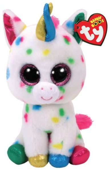 TY Beanie Boo 6 Plush Pink and Green Leyla the Sheep