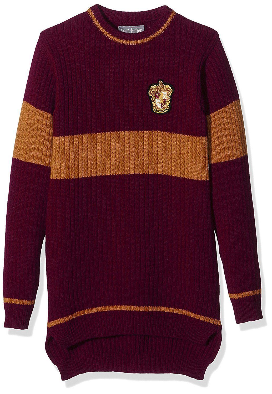 Harry Potter - Official Gryffindor Quidditch Sweater - Unisex - 100% Lambswool - XS: Amazon.de: Bekleidung