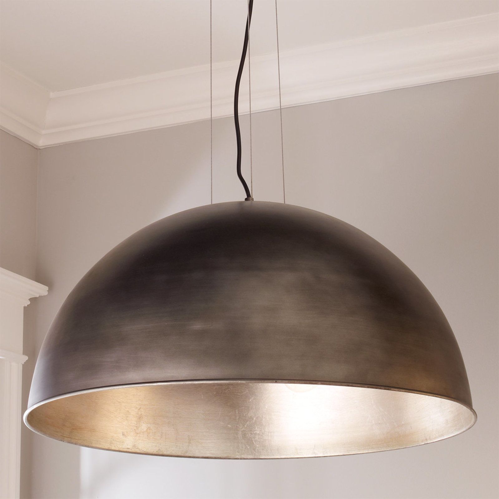 Industrial Dome Shade Pendant Large Dome Pendant Lighting Large Pendant Lighting Dome Light Fixture