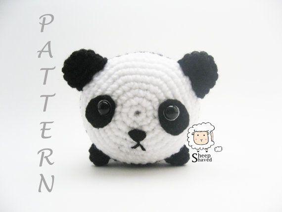 Patrón Oso panda | Patrones amigurumi, Amigurumi osito ... | 428x570