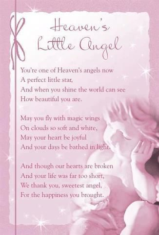 Heavens Little Angel Until We Meet Again Angels In Heaven