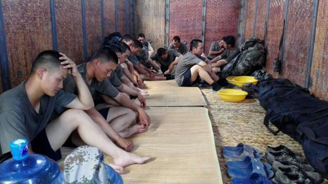 China's rapidly-developing railway system has yet to meet the military's demand for transportation, a newspaper affiliated with the People's Liberation Army (PLA) admitted, after photos of PLA soldiers traveling in boxcars triggered online discontent.