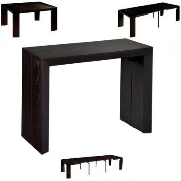 Console extensible elysee 4 allonges deco pinterest - Table console extensible fly ...