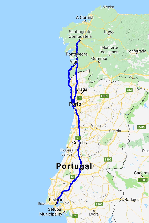 The Many Ways On The Camino Portugues The Camino Santiago De Compostela Camino Portuguese