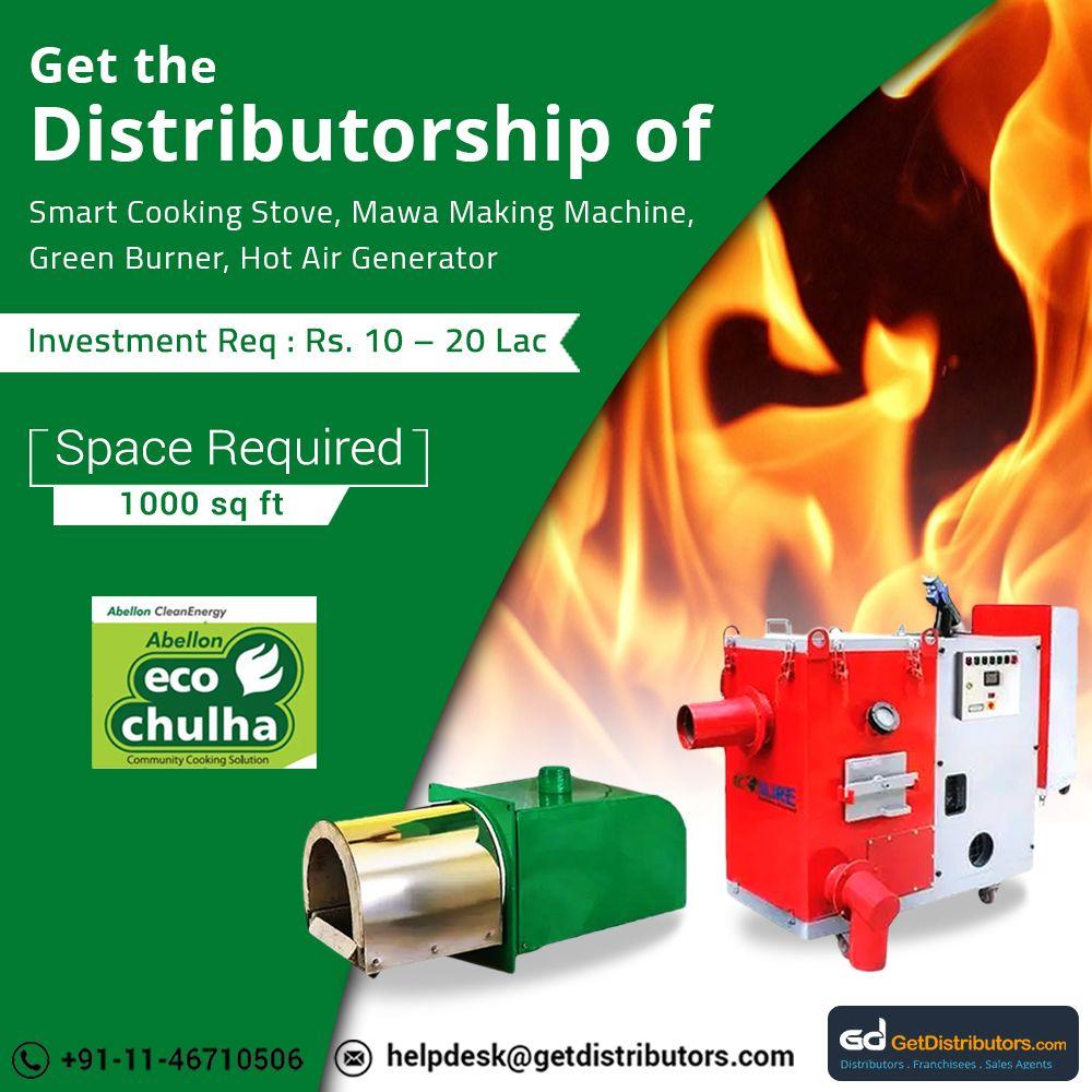 Distributorship of Smart Cooking Stove & Green Burner