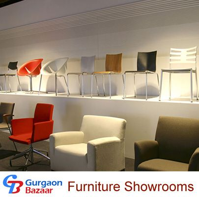 Furniture Showrooms Using Platform To Create Extra Display