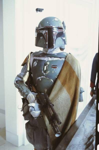 Boba Fett Empire Strikes Back Star Wars Bounty Hunters Movie Memorabilia Poster