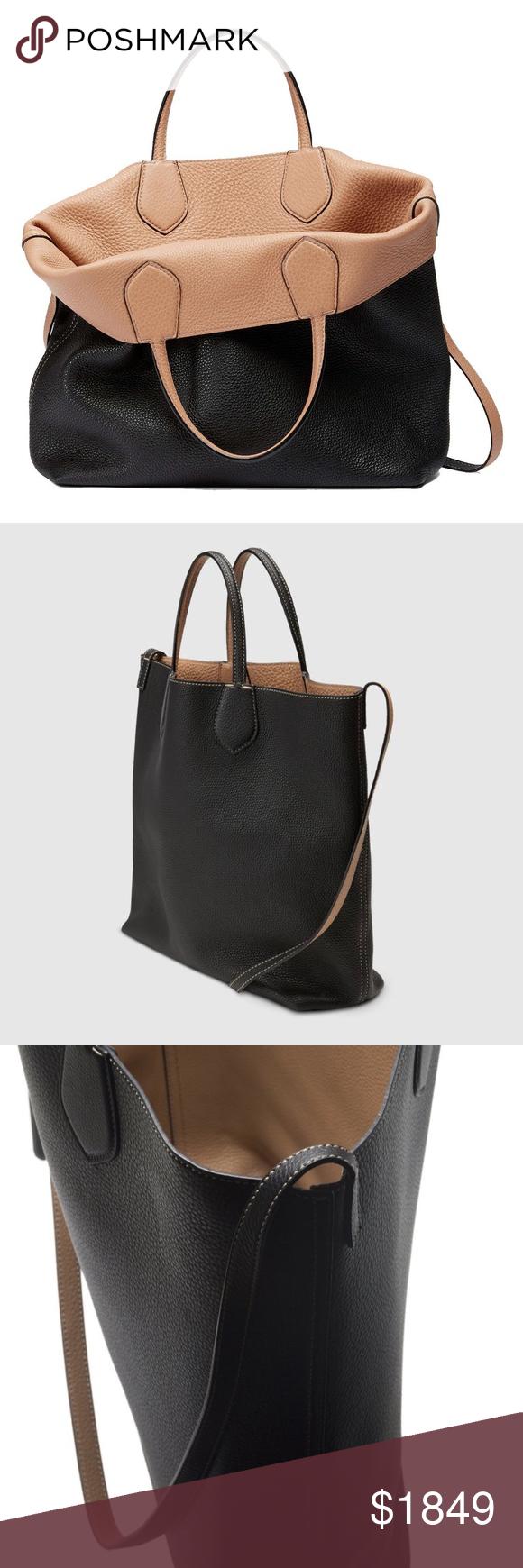 7a5572918895 Gucci Ramble Handbag Reversible Leather Shopping Gucci Ramble Reversible  Leather Shopping Tote Bag with Shoulder Strap