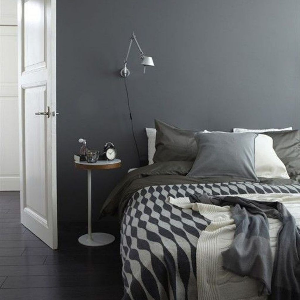 Grey Bedroom Ideas With Calm Situation: The Dim Bedroom Ideas Can Be A Decent Room Subject For You