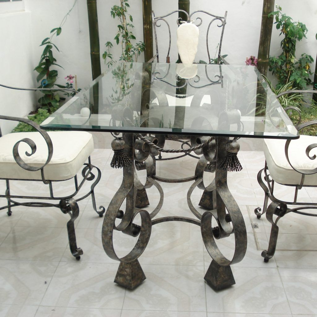 Glass And Wrought Iron Kitchen Table Sets Wrought Iron Outdoor Furniture Wrought Iron Dining Table Wrought Iron Garden Furniture