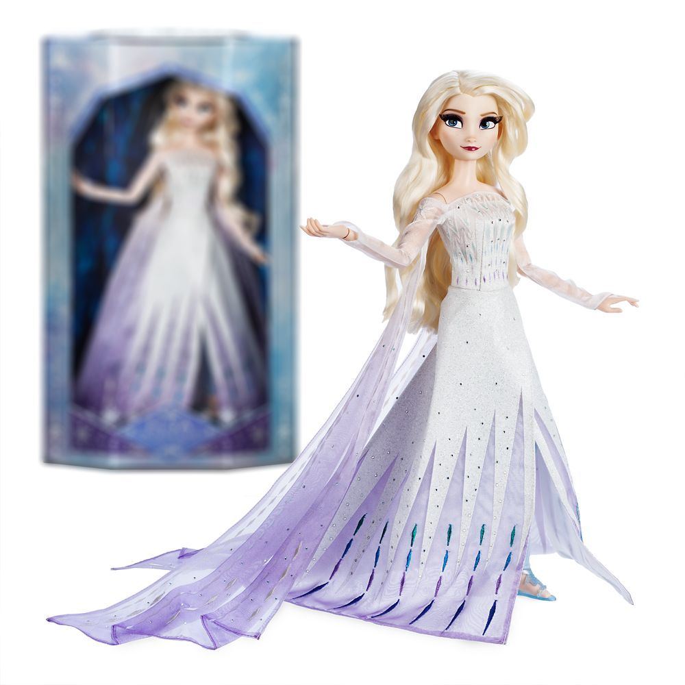 Elsa The Snow Queen Limited Edition Doll Frozen 2 17 Shopdisney In 2020 Elsa Doll Disney Barbie Dolls Frozen Elsa Doll