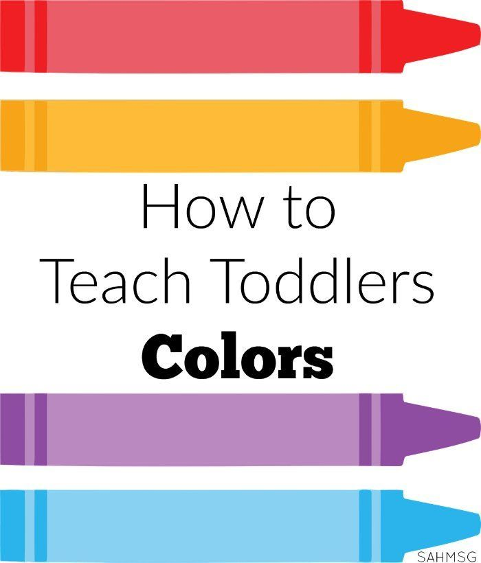 How to teach toddlers colors toddler lesson plans activities and how to teach toddlers colors the stay at home mom survival guide toddler lesson planspre publicscrutiny Choice Image