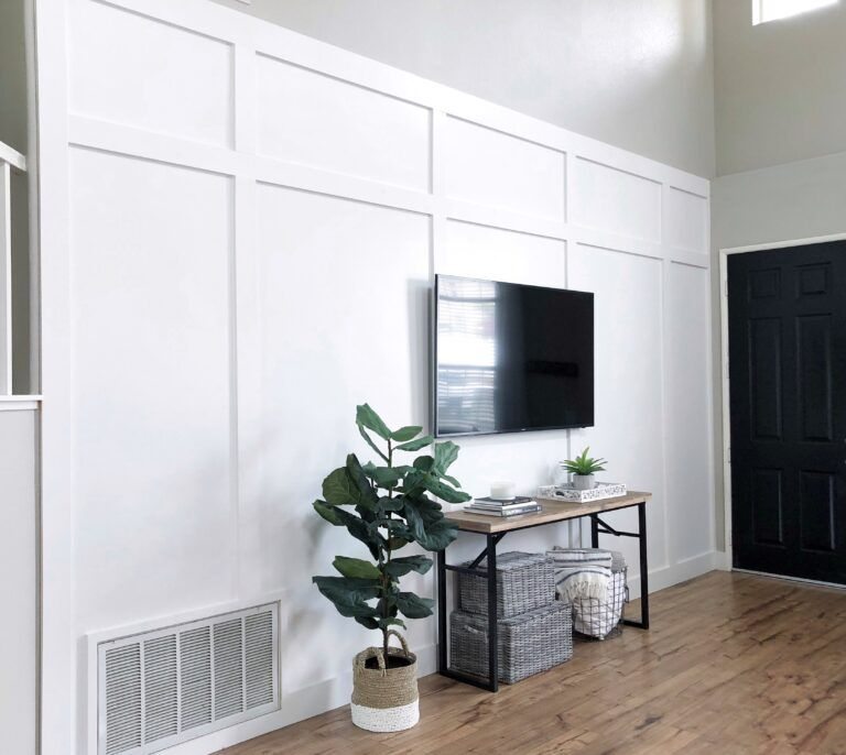 DIY Board and Batten Wall DIY and Home Decor