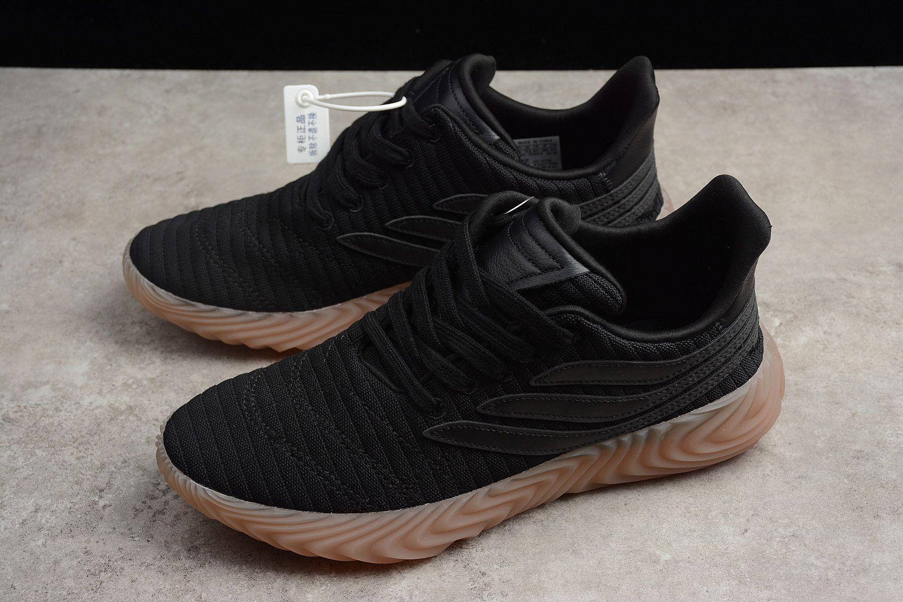 on sale f399d b126e Mens adidas Sobakov Black Gum AQ1138 Free Shipping