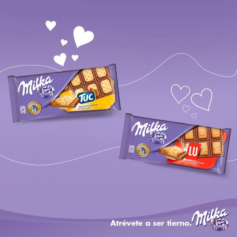 Milka Presenta Una Nueva Gama 2 Nuevas Combinaciones Muy