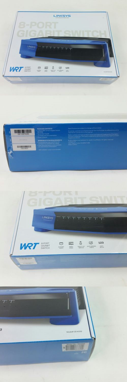 Switches and Hubs 182091: Linksys Se4008-Ej 8-Port Gigabit