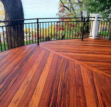 All About Hardwood Decking Hardwood Decking Deck Design Building A Deck