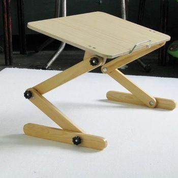 Bamboo Computer Desk Lap Desk Lep Desk With Lamp Laptop Desk