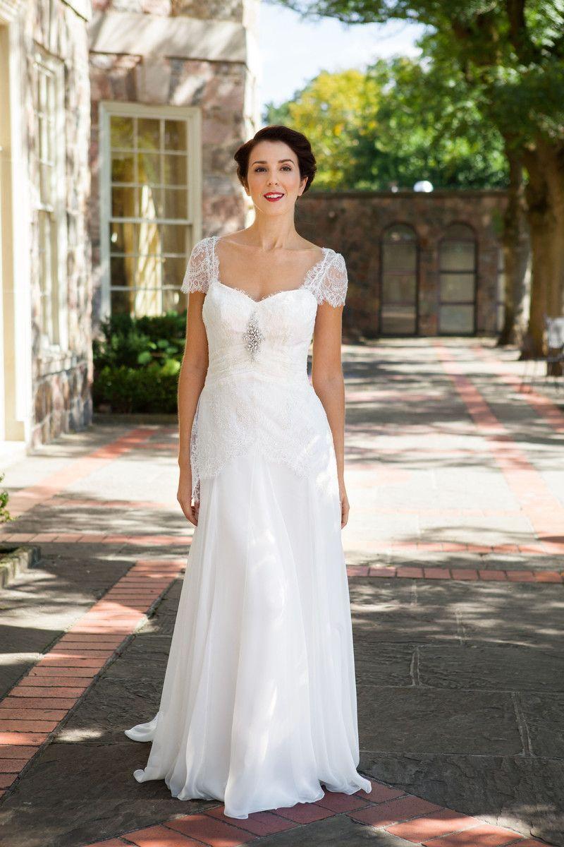 Antique lace wedding dresses u via beach boho chic modern modest