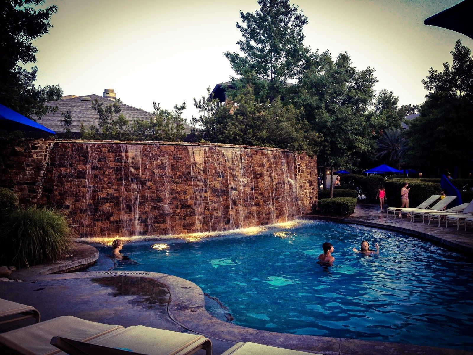 relaxing family resort vacation near Houston at The ...