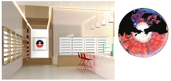 Seyie Design - Retail branding for optometry retail boutique